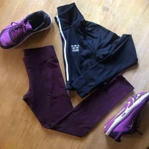 Aerie Chill Purple Leggings